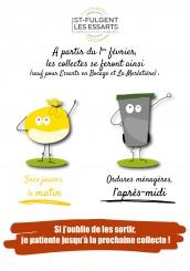 changement collecte ordures ménagères
