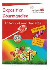 Exposition gourmandise Médiathèque