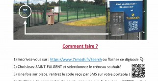 Nouveau à St Fulgent : envie de faire un match de Tennis ?