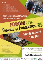 FORUM 2018 Travail et Formation 85